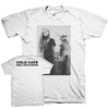 "COLD CAVE ""Full Cold Moon"" White T-Shirt"