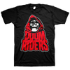 "DOOMRIDERS ""Reaper: Red"" Black T-Shirt"