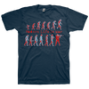 "MODERN LIFE IS WAR ""Evolution Vol.2"" Navy Blue T-Shirt"