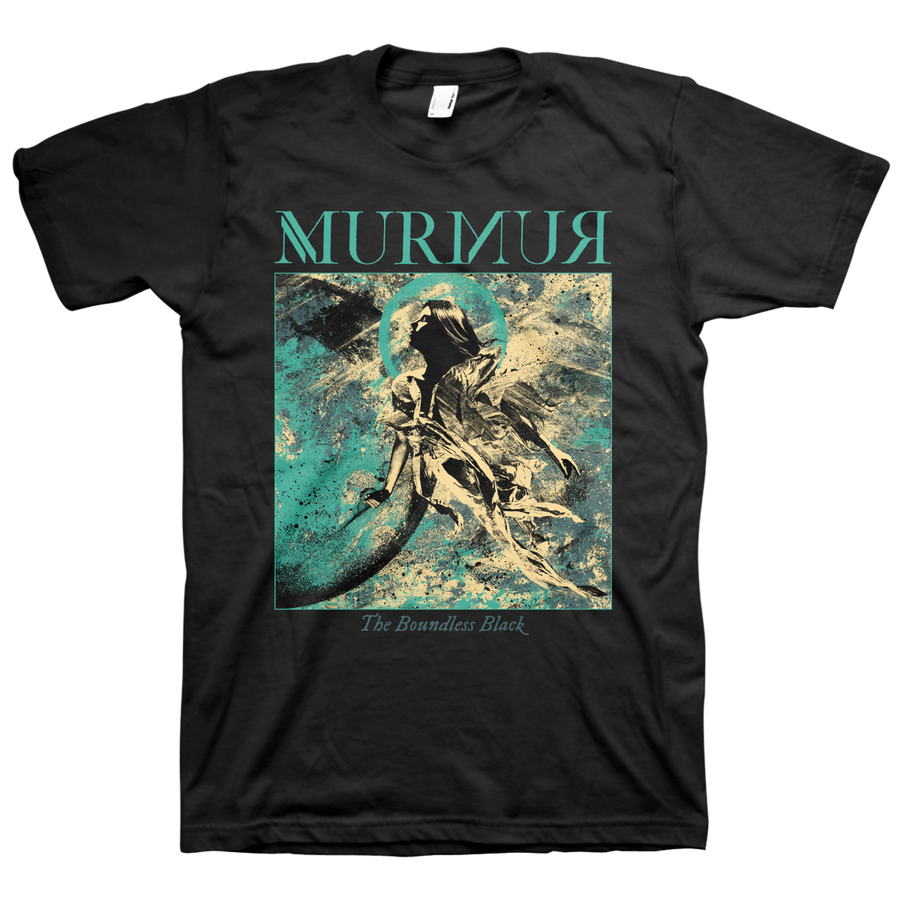 "MURMUR ""The Boundless Black"" Black T-Shirt"