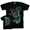 "WEAR YOUR WOUNDS ""Candle Of Heaven"" Black T-Shirt"