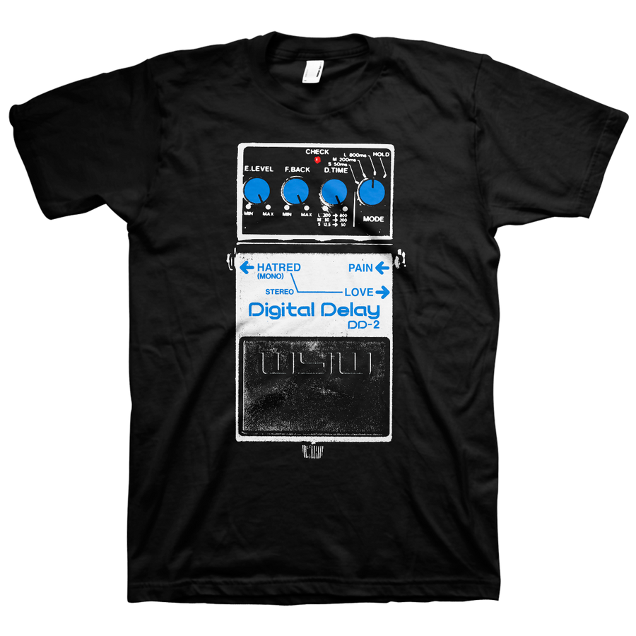 "WEAR YOUR WOUNDS ""DD-2"" Black T-Shirt"