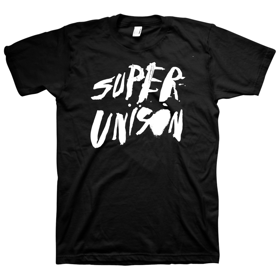 "SUPER UNISON ""Logo"" Black T-Shirt"