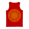"THOMAS HOOPER ""Lotus Mandala"" Red Tank Top"