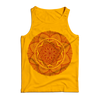 "THOMAS HOOPER ""Lotus Mandala"" Yellow Tank Top"
