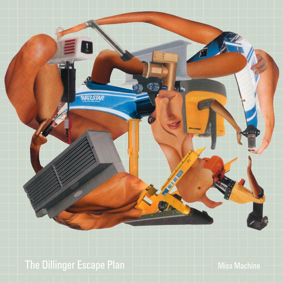 "THE DILLINGER ESCAPE PLAN ""Miss Machine""-Relapse Records-Deathwish Inc Europe"
