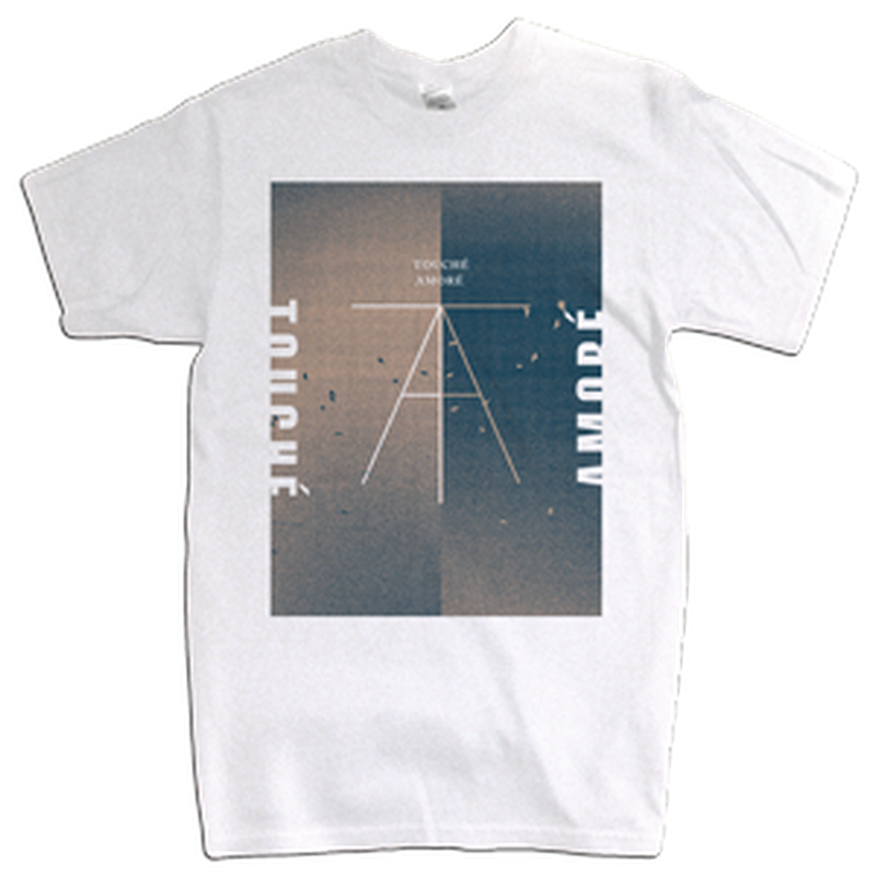 "TOUCHE AMORE ""Birds"" White T-Shirt"