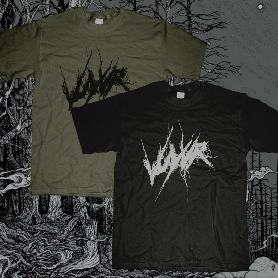 "VUYVR ""Logo"" T-Shirt-Throatruiner Records-Deathwish Inc Europe"