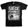 "SIEGE ""Walls"" Black T-Shirt"
