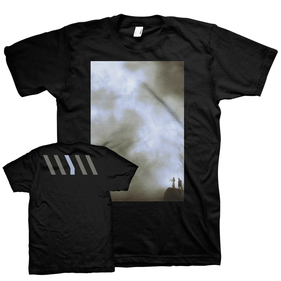 "WEAR YOUR WOUNDS ""Cliff"" Black T-Shirt"
