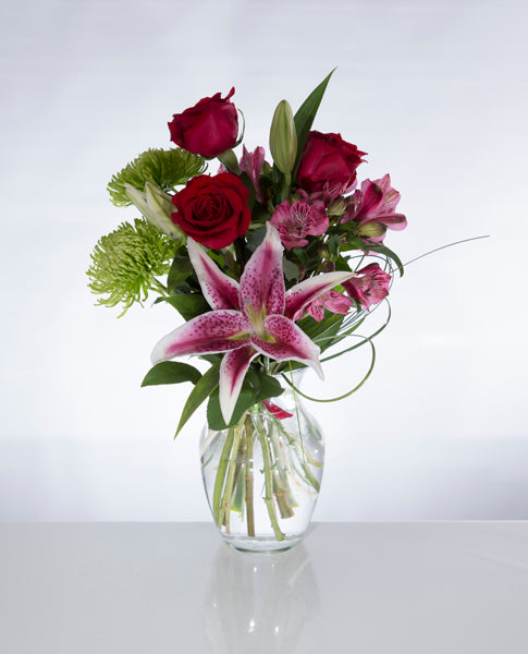 "BF046-Bouquet ""Tu me rends fou d'amour"""