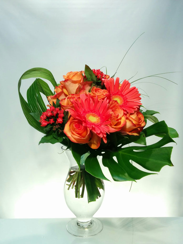 "BF050-Bouquet ""Avant goût tropical"""