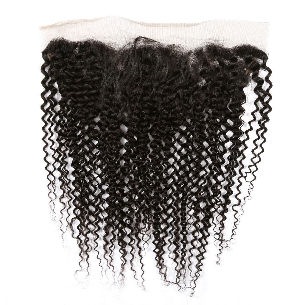 EXECUTIVE 13X4 FRONTAL: KINKY CURLY