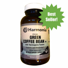 Green Coffee Bean + with Thermogenic Factors for Weight Management