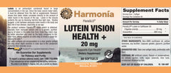 Lutein Vision Health + with FloraGLO® and Zeaxanthin