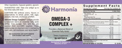 Omega-3 Complex +, with Omega 3, 6, and 9 and Non-GMO Flax Oil