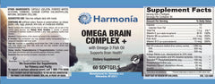 Omega Brain Complex+ with SerinAid® for Cognitive Focus and Performance