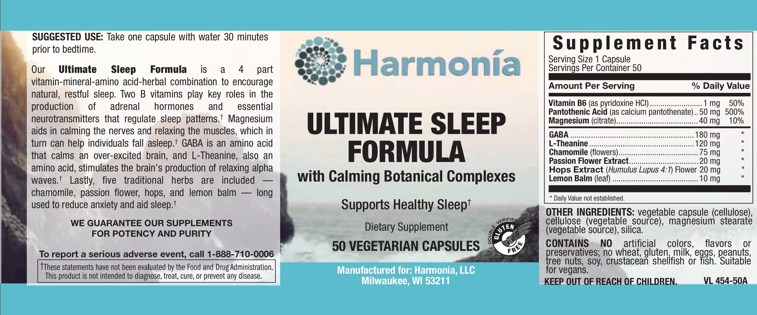 Ultimate Sleep Formula for Controlled & Better Sleep