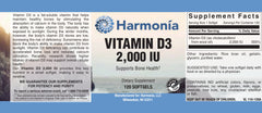 Vitamin D3 2,000 IU for Immunity