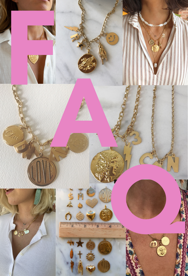 FAQs: Custom Charm Necklaces