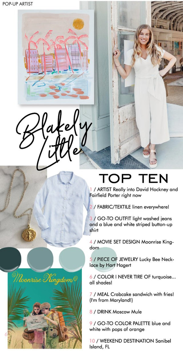 Top Ten with Blakely Little