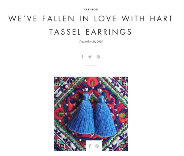 TASSEL TALK: Over the Moon Blog