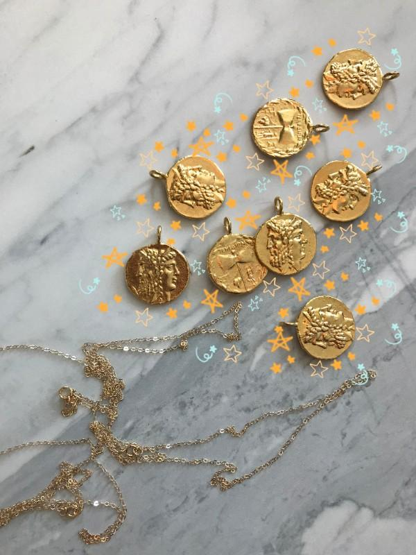 Get Lucky (Coin Necklaces) 🔶🔸🌟