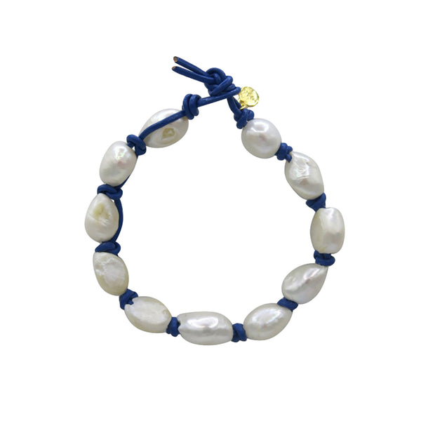 Hart Big Cloud Bracelet - Cobalt