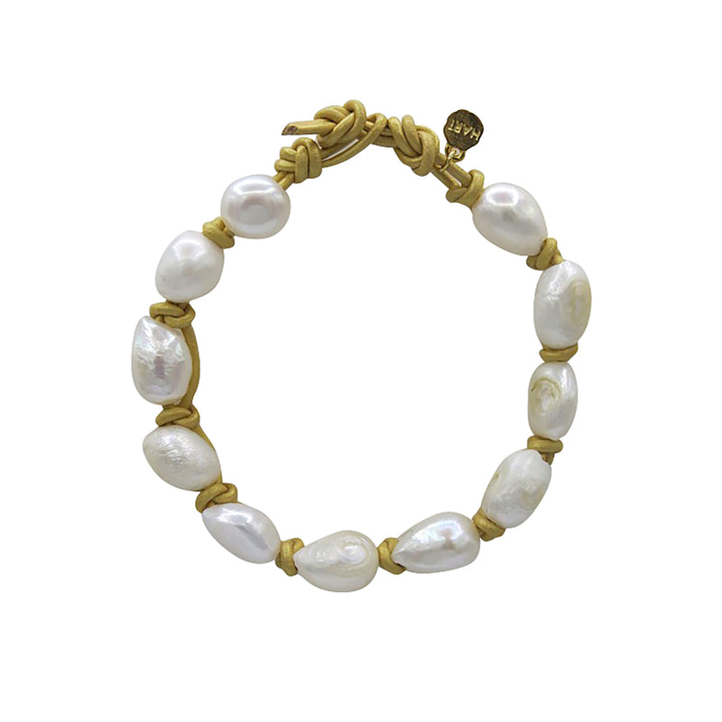 Hart Big Cloud Bracelet - Gold