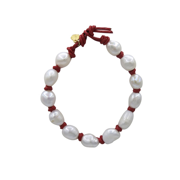 Hart Big Cloud Bracelet - Red
