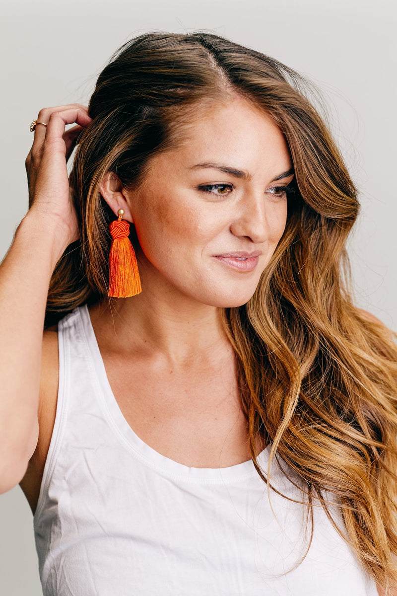 Orange Topknots (Pack of Four Pairs)