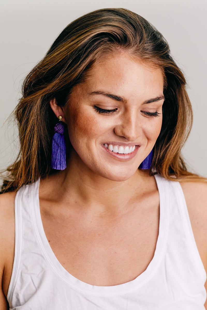 Purple Topknots (Pack of Four Pairs)