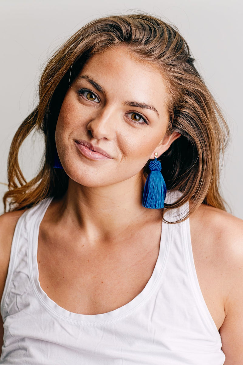 Blue Topknots (Pack of Four Pairs)
