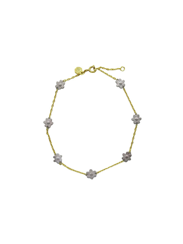 Frida Daisy Chain Anklet