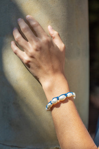 Big Cloud Bracelet - Cobalt