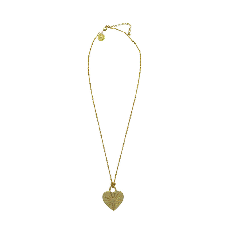 Hart I love your brain/heart lucky pendant necklace