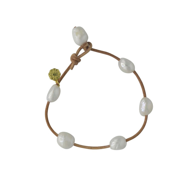 Hart Little Cloud Anklet - Natural