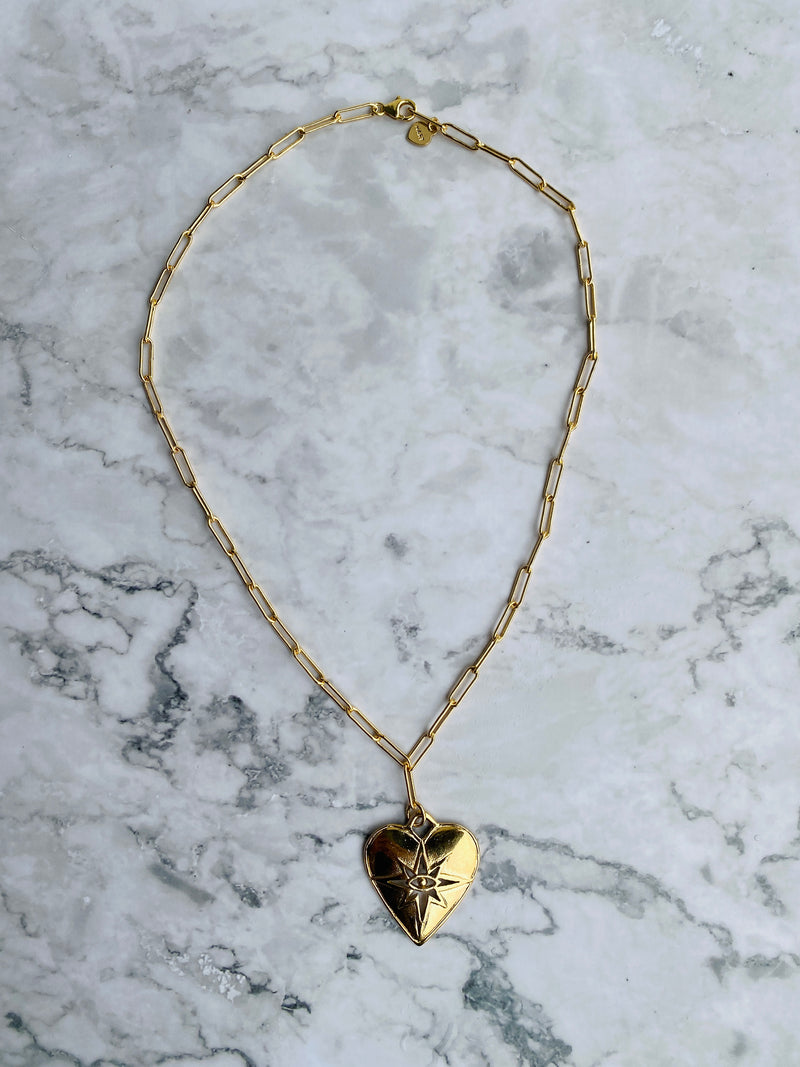 Seeing Heart Necklace