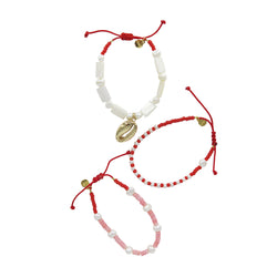 Hart Red Bracelet Trio