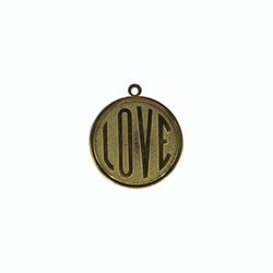 Round Love Charm (Large)