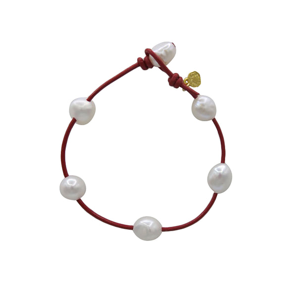 Hart Little Cloud Bracelet - Red