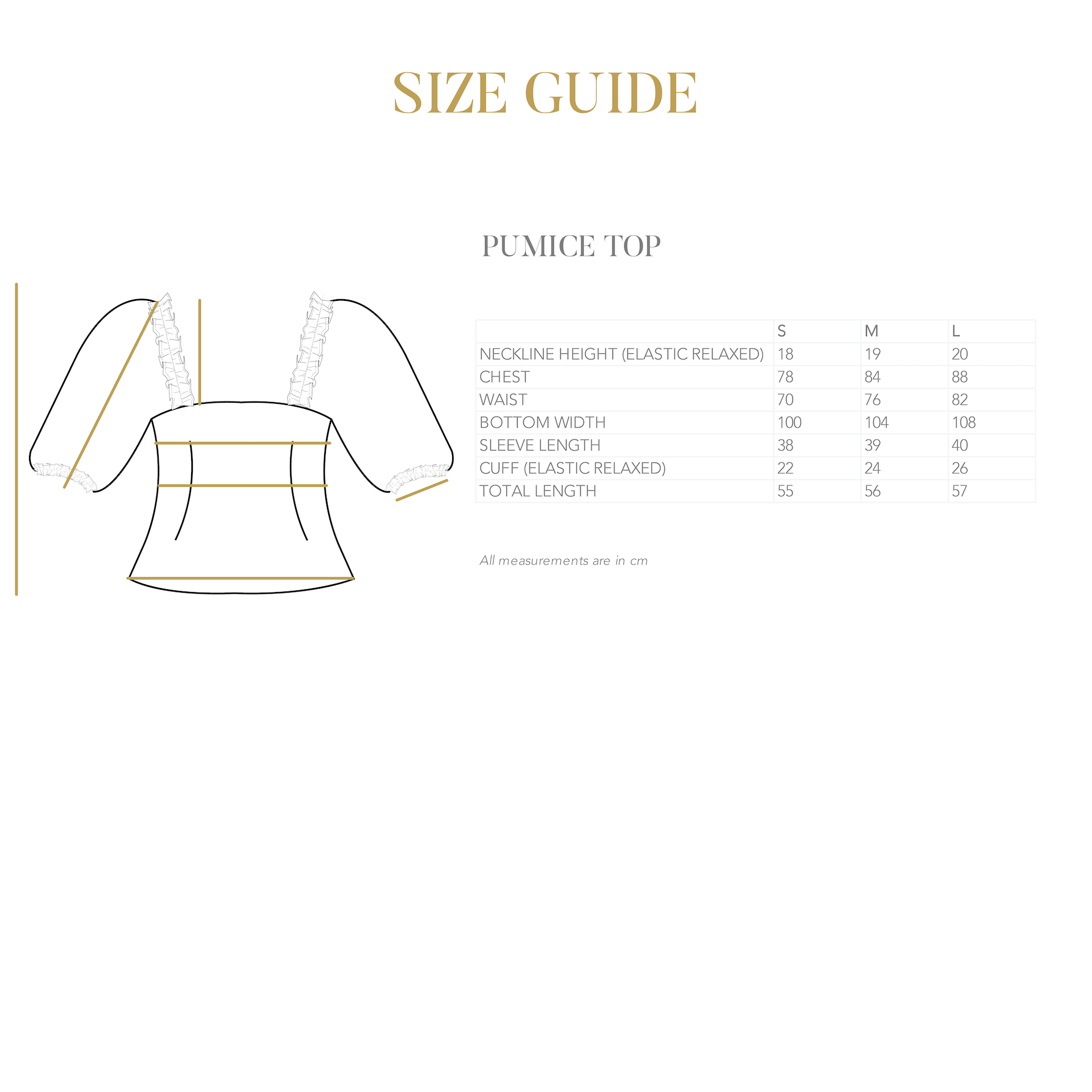 PUMICE PUFF SLEEVE TOP IN WHITE (PRE-ORDER)