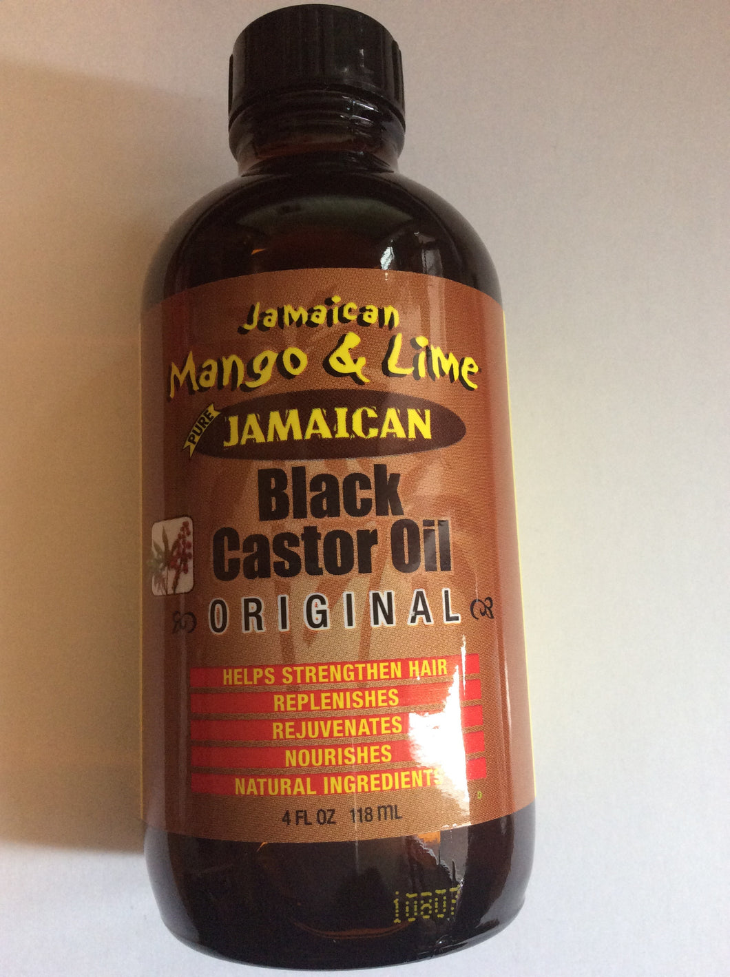 Jamaican Mango & Lime Black Castor Oil