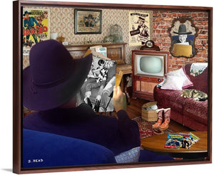 Hoppy's Biggest Fan by Steve Head (Digital Collage)