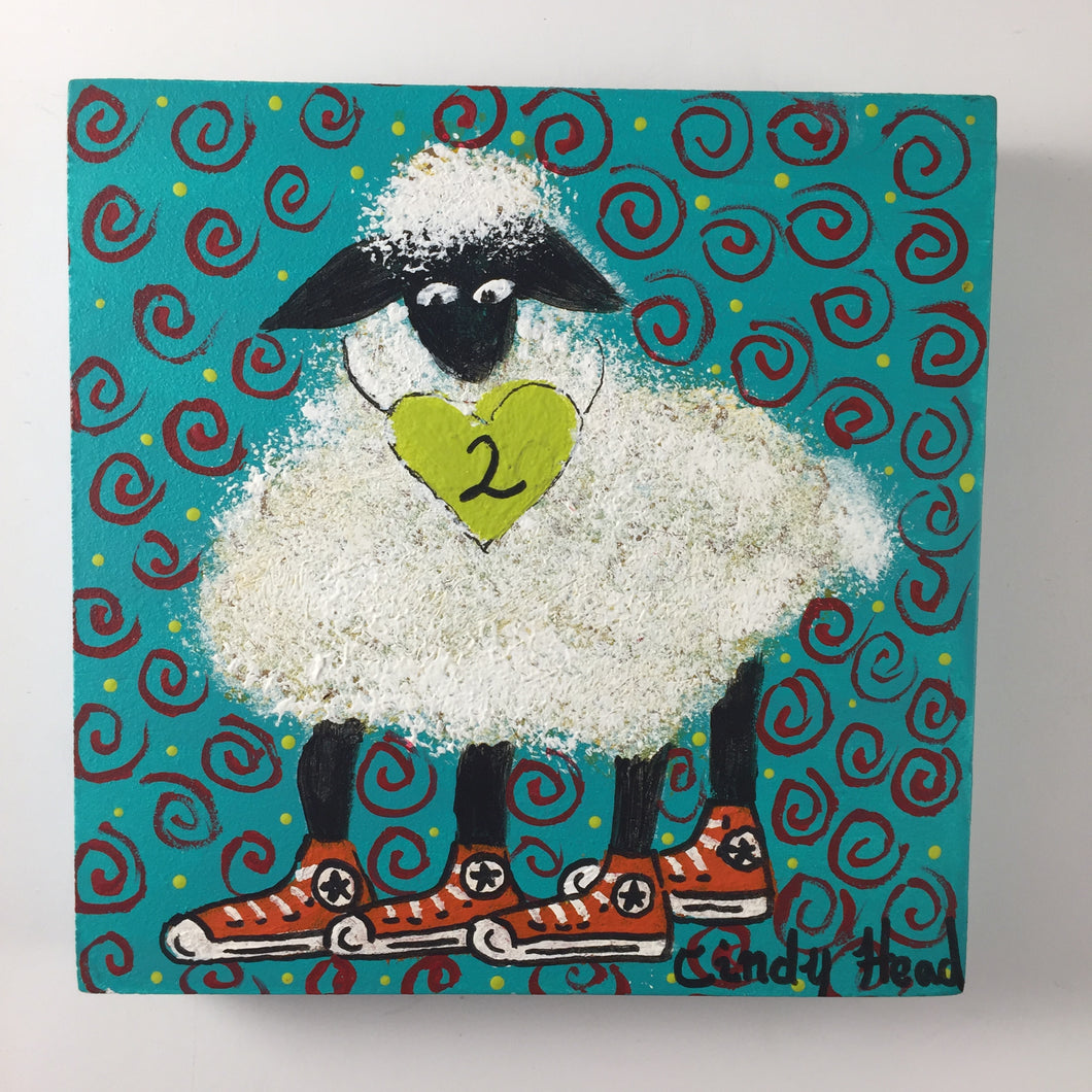 Prone to Wander Mini #2 by Cindy Head (SOLD)