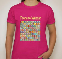 Prone to Wander, Women's T-Shirts by Cindy Head