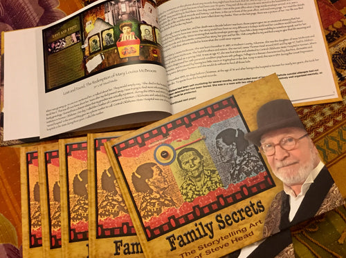 Family Secrets Art Book  by Steve Head (Hard Cover) Artist's Proof