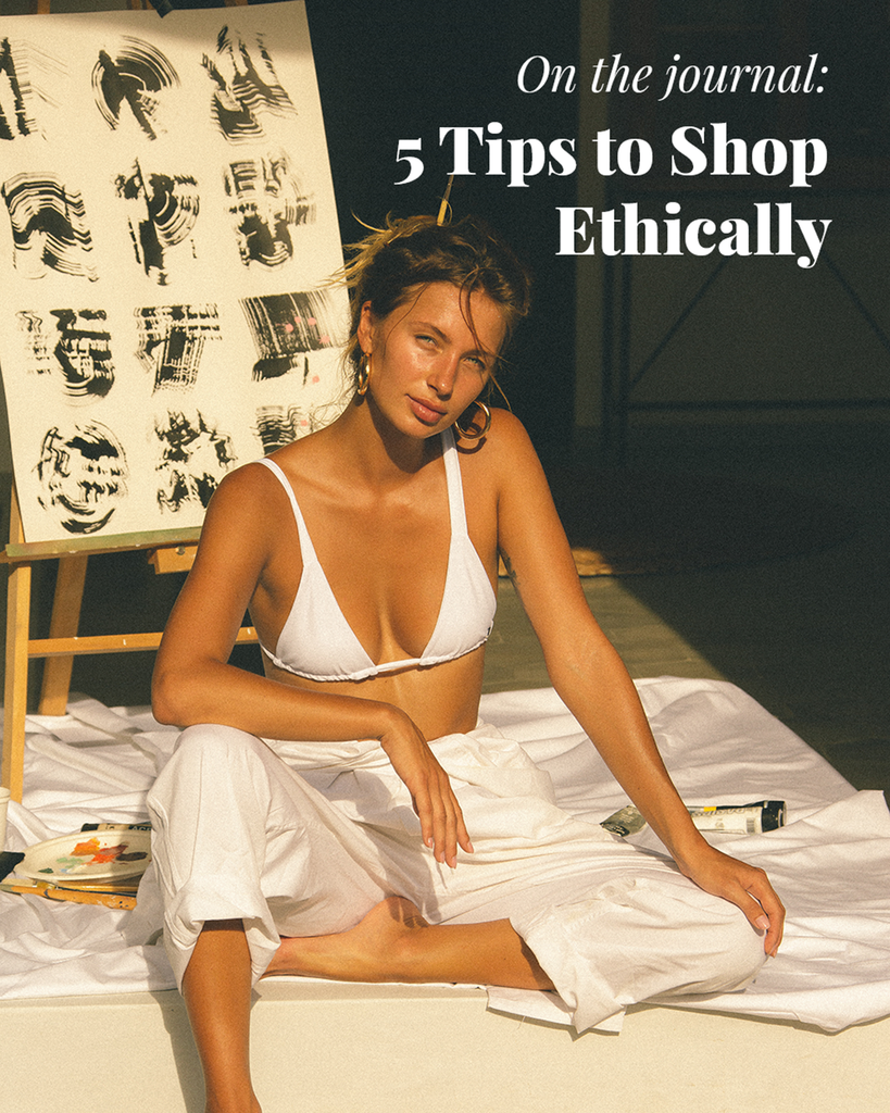 5 Tips to Shop Ethically