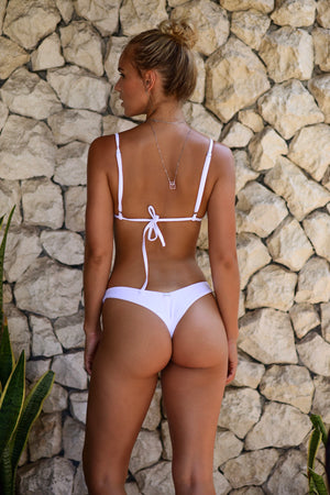 Kenza Bottoms in Bianco