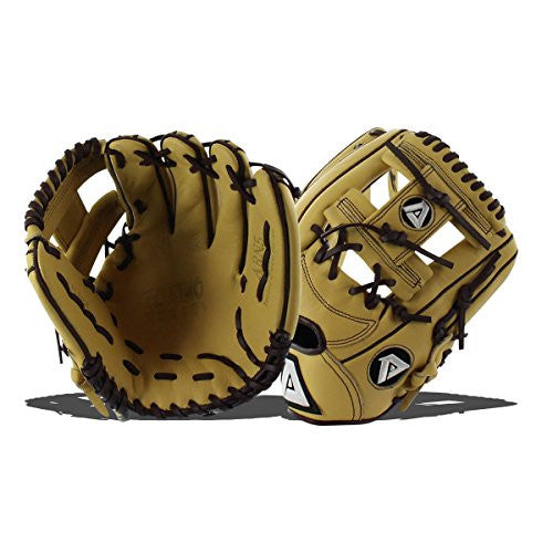 "Akadema ARN 5 11.5"" Torino Kip Leather Infielders Glove-RT Only"